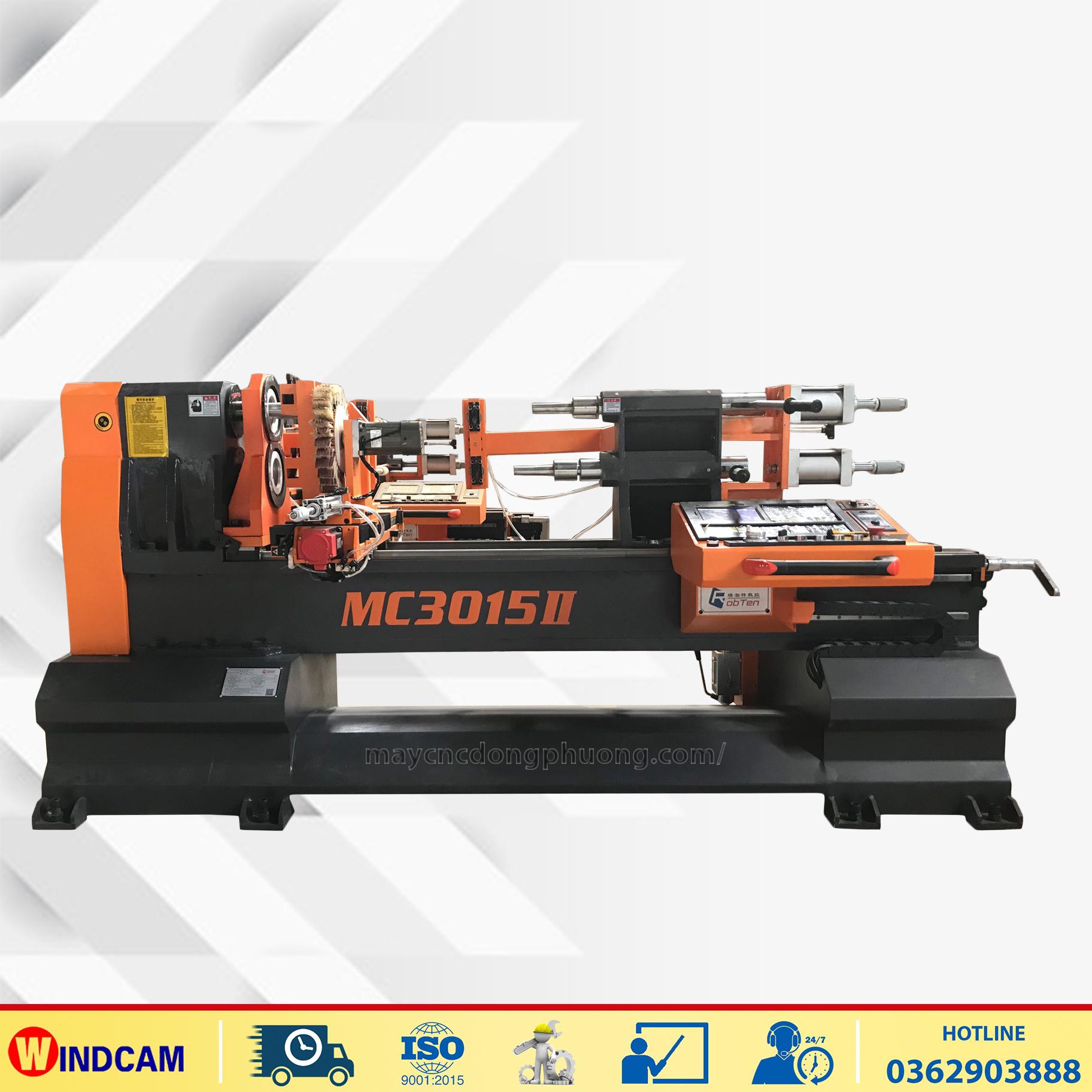Máy CNC tiện gỗ