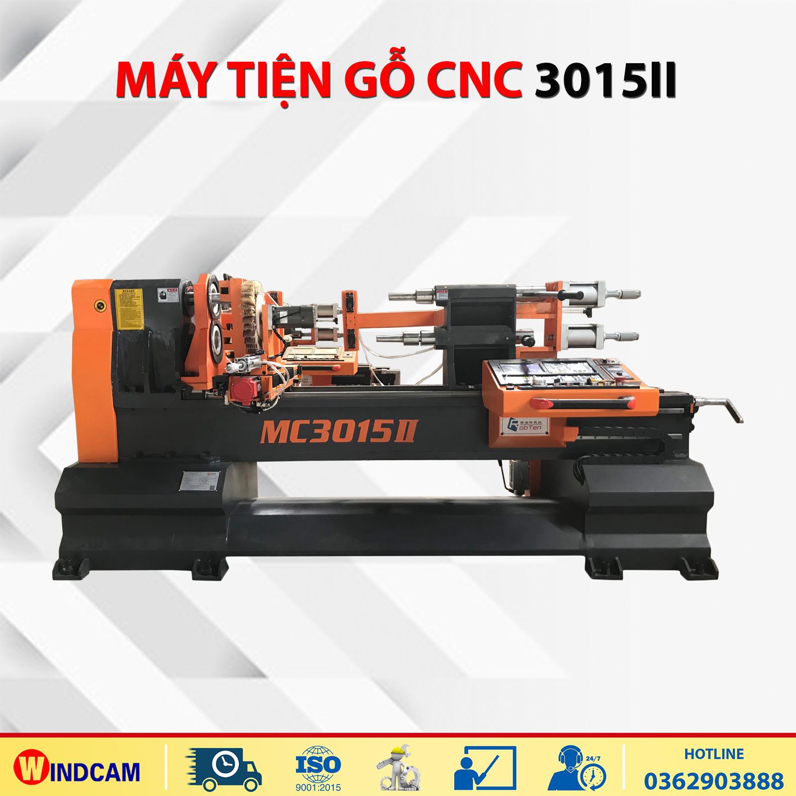 Máy CNC tiện gỗ MC3015II