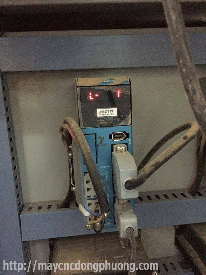 Lỗi driver máy cnc - Cách khắc phục