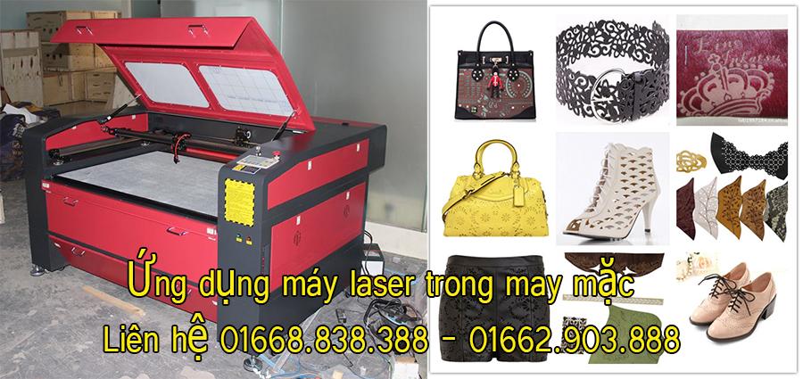 Công nghệ máy laser ứng dụng trong ngành may mặc