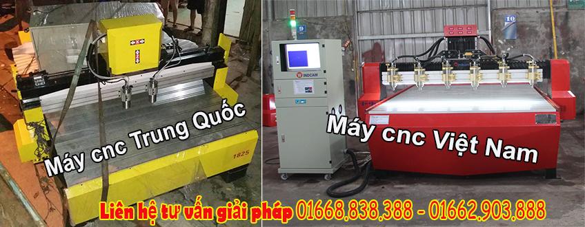So sánh chất lượng máy cnc Việt Nam và máy cnc Trung Quốc?