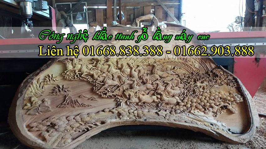 Cùng ngắm nhìn siêu phẩm tranh gỗ tuyệt đẹp được điêu khắc bằng máy cnc