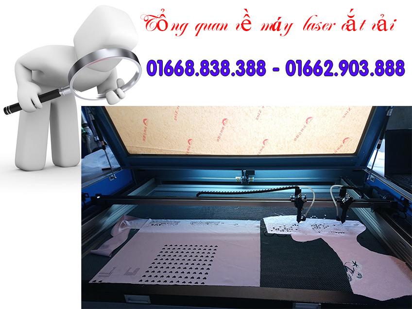 Tổng quan về chiếc máy cắt laser CO2 cắt vải chuyên dụng