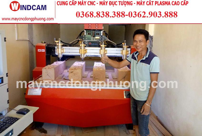 Chia sẻ kinh nghiệm sử dụng máy cnc khắc gỗ của anh Huỳnh Thanh Hiếu – Bình Dương.