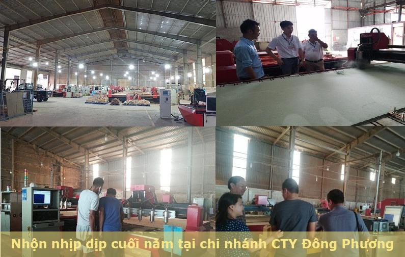 Nhộn nhịp dịp cuối năm tại Công ty cung cấp máy cnc Đông Phương Hà Nội.