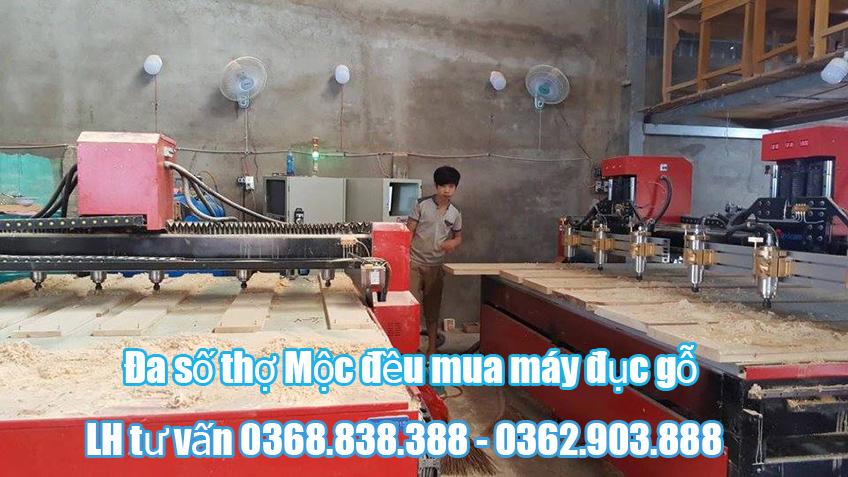 Đầu tư mua máy đục gỗ cnc có giúp phát triển nghề Mộc?