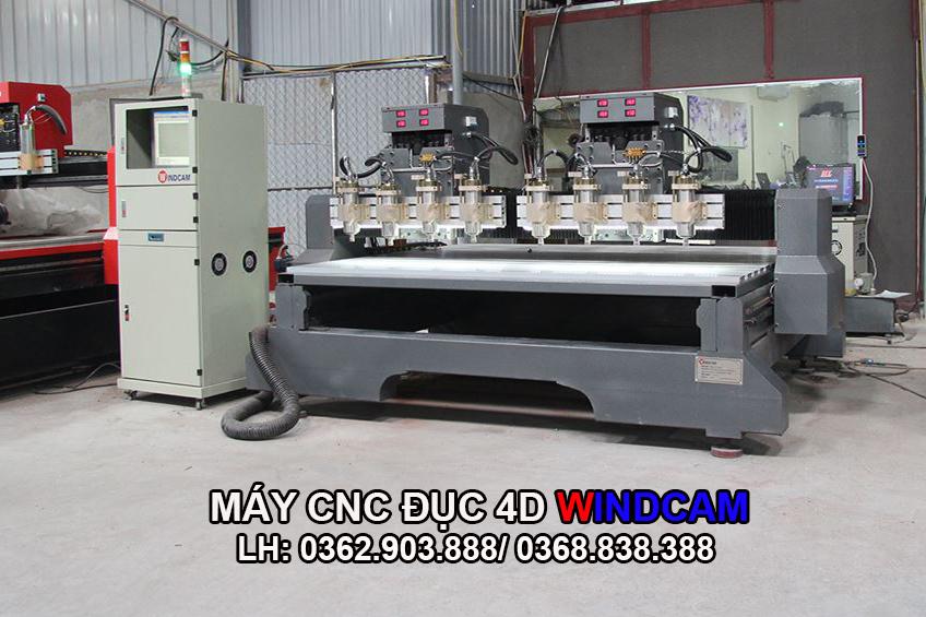 Mua máy CNC đục tượng 4D Công ty Đông Phương Hà Nội
