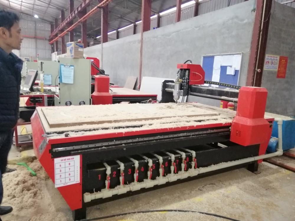 Máy CNC nâng cấp bàn hút chân không giải pháp cắt gỗ tối ưu nhất năm 2019