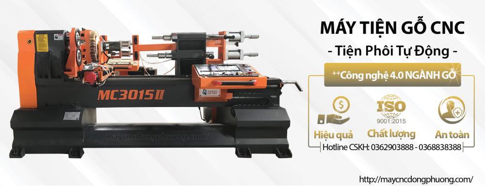 Máy tiện gỗ CNC là gì? Ưu điểm nổi bật của máy tiện CNC