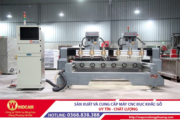 Báo giá máy CNC 4 trục, máy CNC đục khắc tượng mới nhất 2020