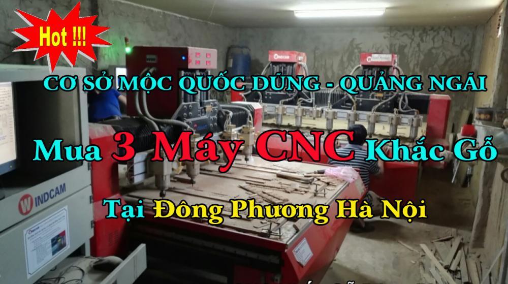Máy CNC Gỗ Đông Phương chiếm chọn thị trường  tại Quảng Ngãi, Bình Định
