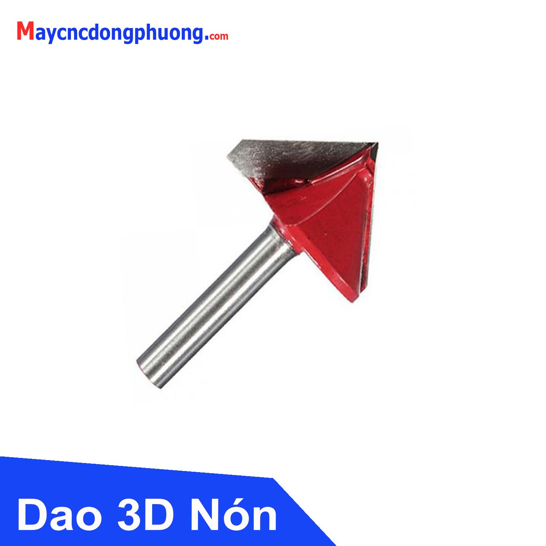 Dao Khắc 3D Nón